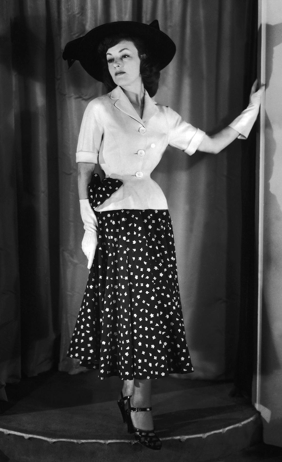 Повседневный образ Nina Ricci, 1948