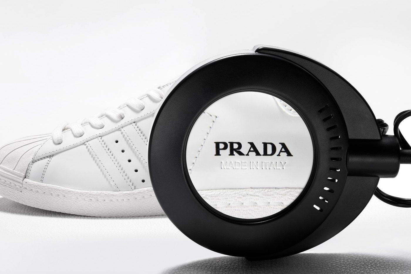 кроссовки Prada x adidas Superstar