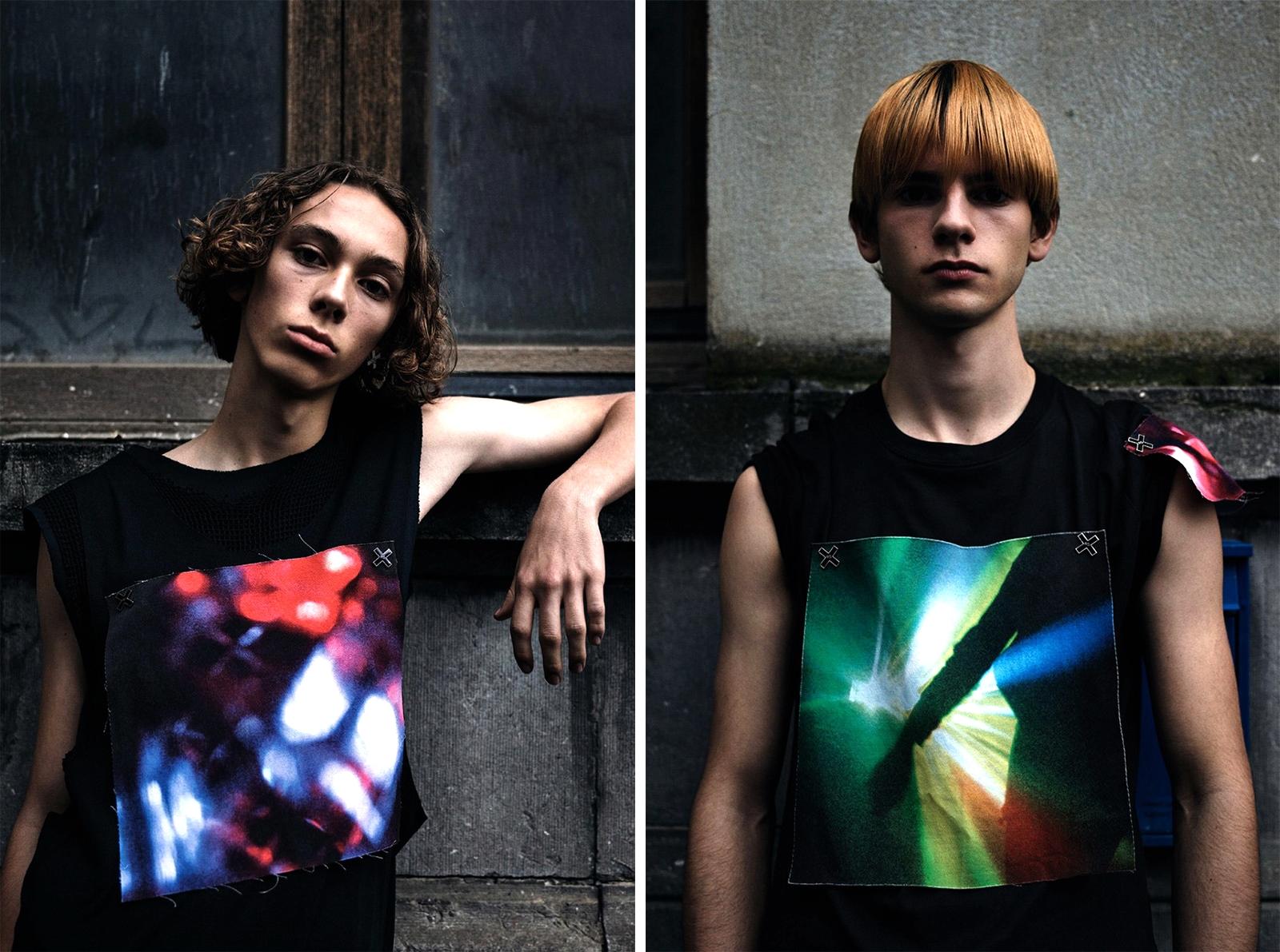 Коллекция Raf Simons x The xx