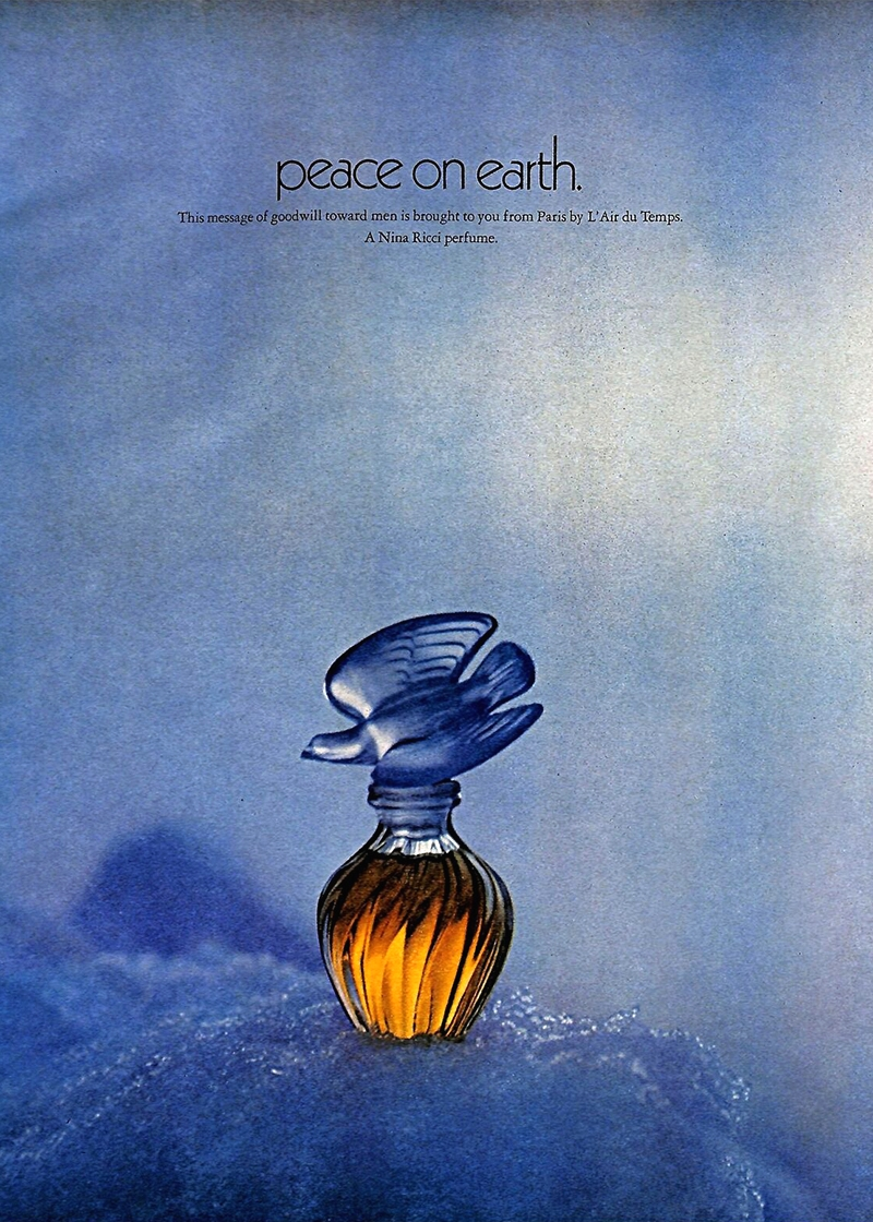 Реклама парфюма Nina Ricci L'air du Temps