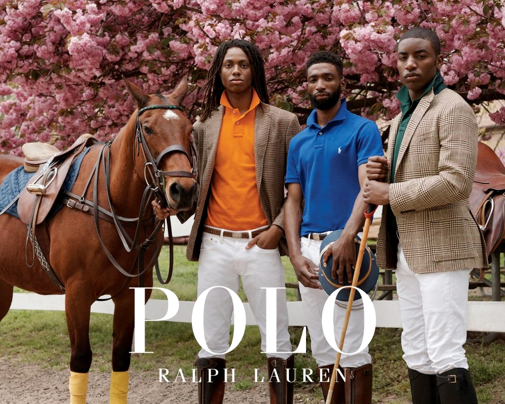 Рекламная кампания Polo Ralph Lauren
