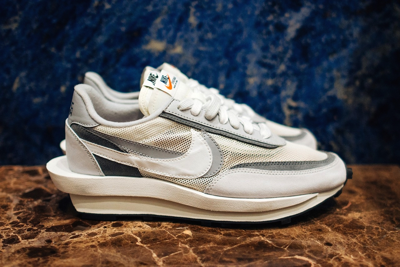 sacai x Nike LDV Waffle Daybreak «White/Grey»