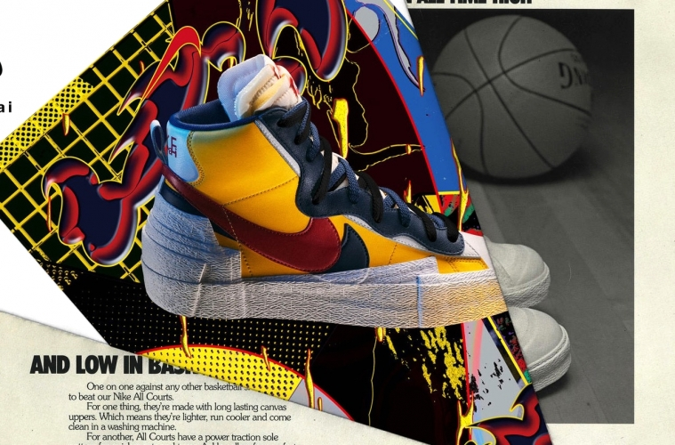 sacai x Nike LDWaffle и Blazer Mid - все о релизе