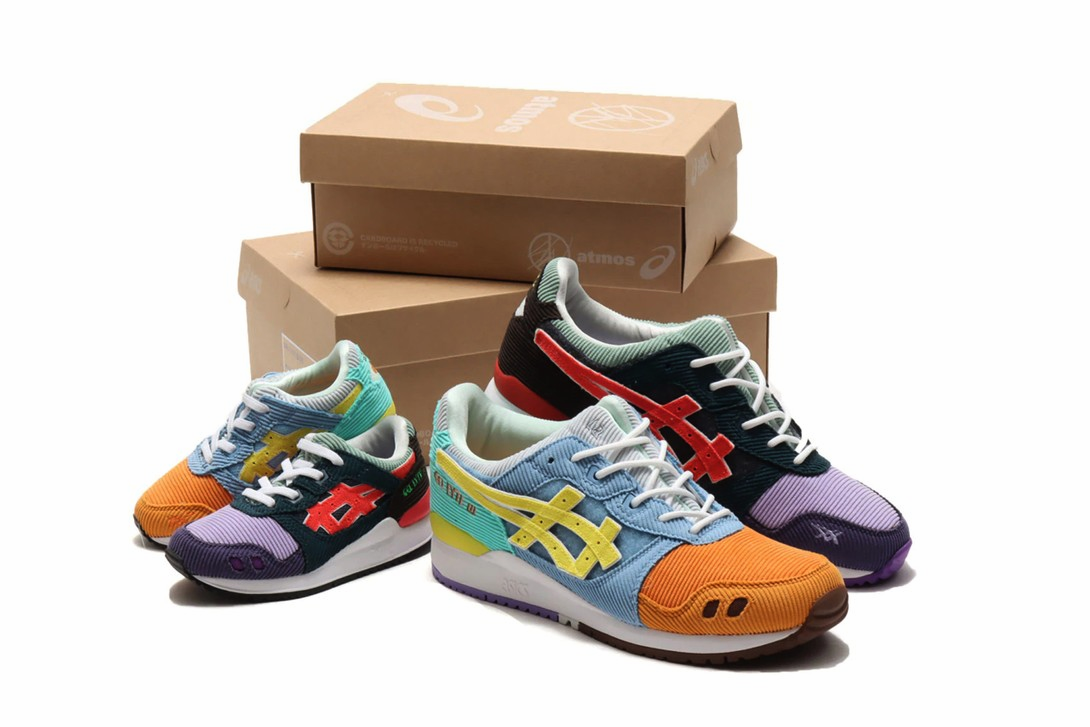 Sean Wotherspoon x atmos x ASICS - дата релиза