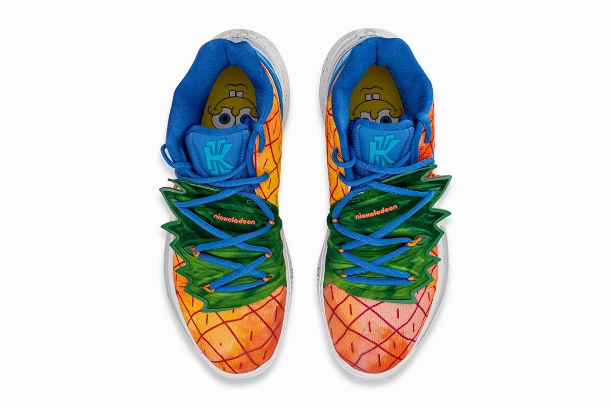Spongebob Squarepants x Nike Kyrie 5 Pineapple House - подробности релиза