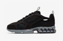 Stussy x Nike Air Zoom Spiridon Cage 2 Black - детали релиза