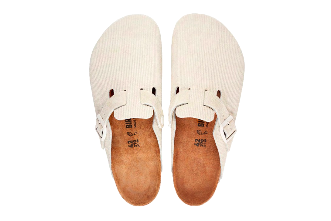 Stussy x Birkenstock Boston Clog «Bone»