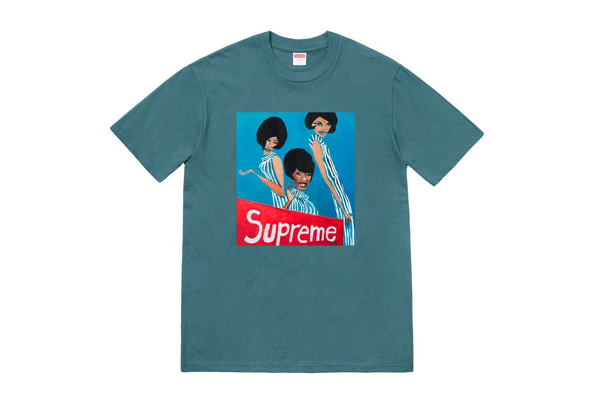 Коллекция Supreme x GZA x Tabboo!