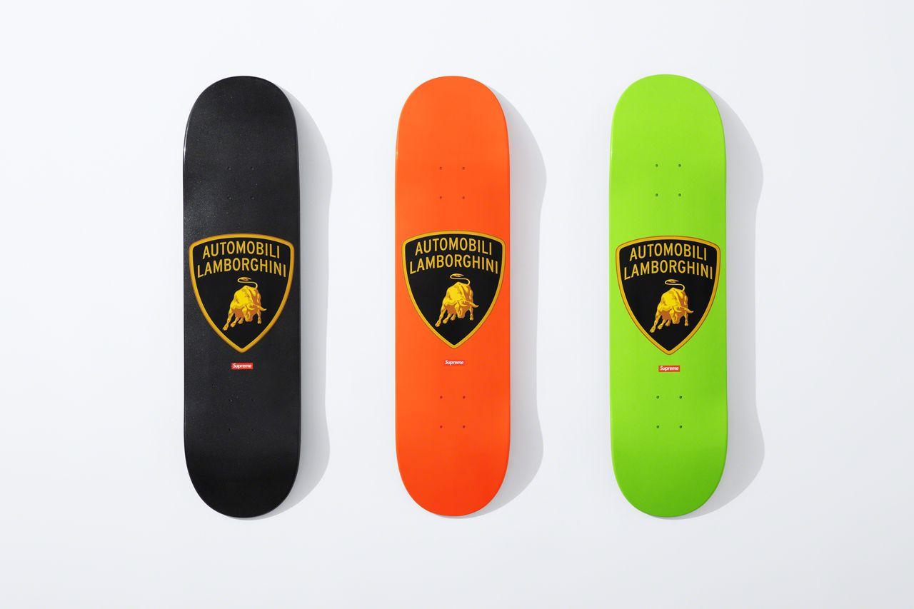 Скейтборд Supreme x Automobili Lamborghini Spring/Summer 2020