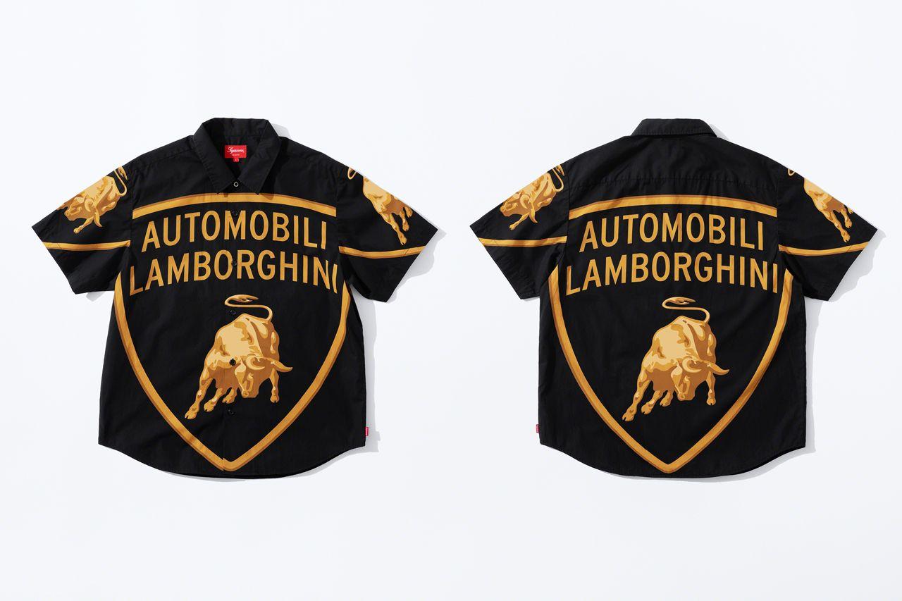 Поло Supreme x Automobili Lamborghini Spring/Summer 2020