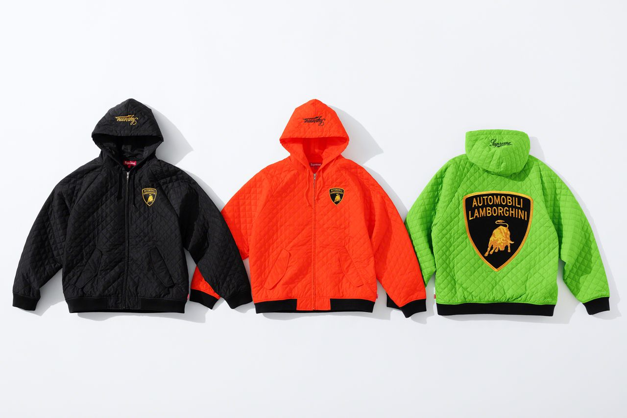 Куртки Supreme x Automobili Lamborghini Spring/Summer 2020