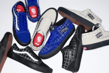 Supreme x Vans Old Skool и Half Cab дата релиза