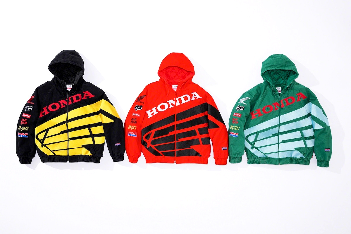 Supreme x Fox Racing x Honda