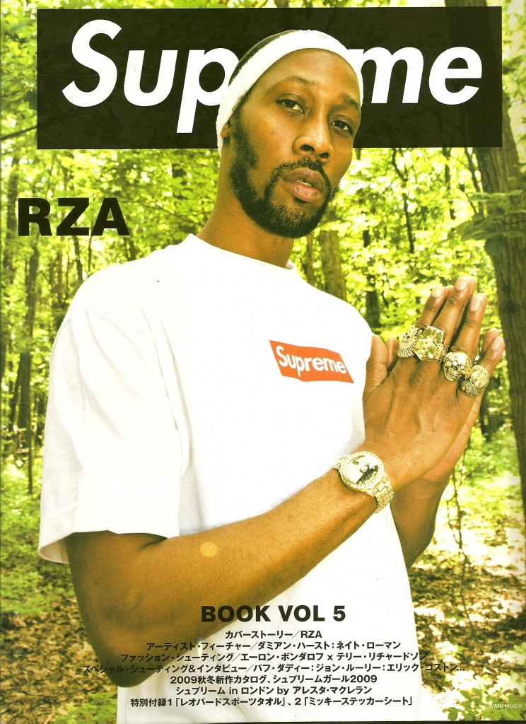 supreme book rza