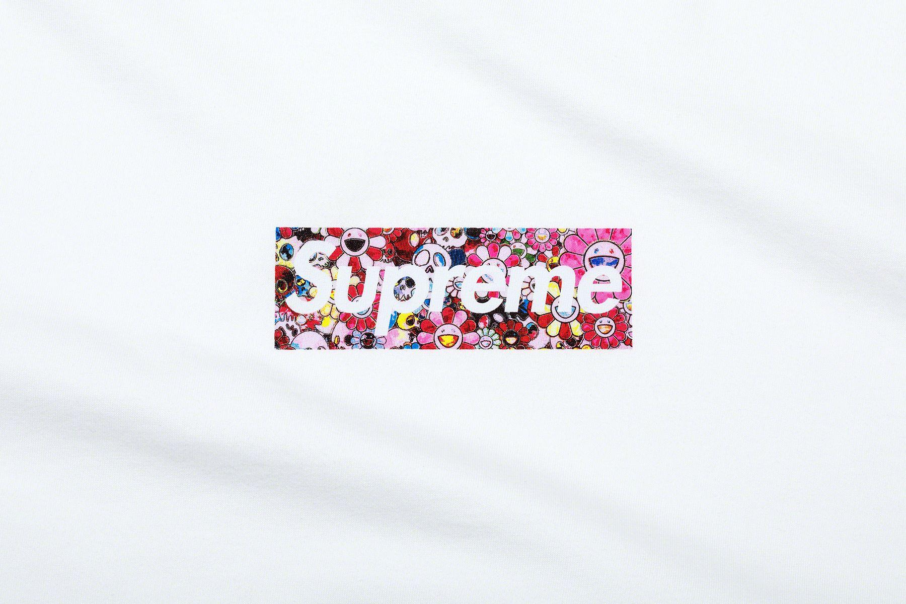 Takashi Murakami x Supreme - благотворительная футболка для борьбы с коронавирусом