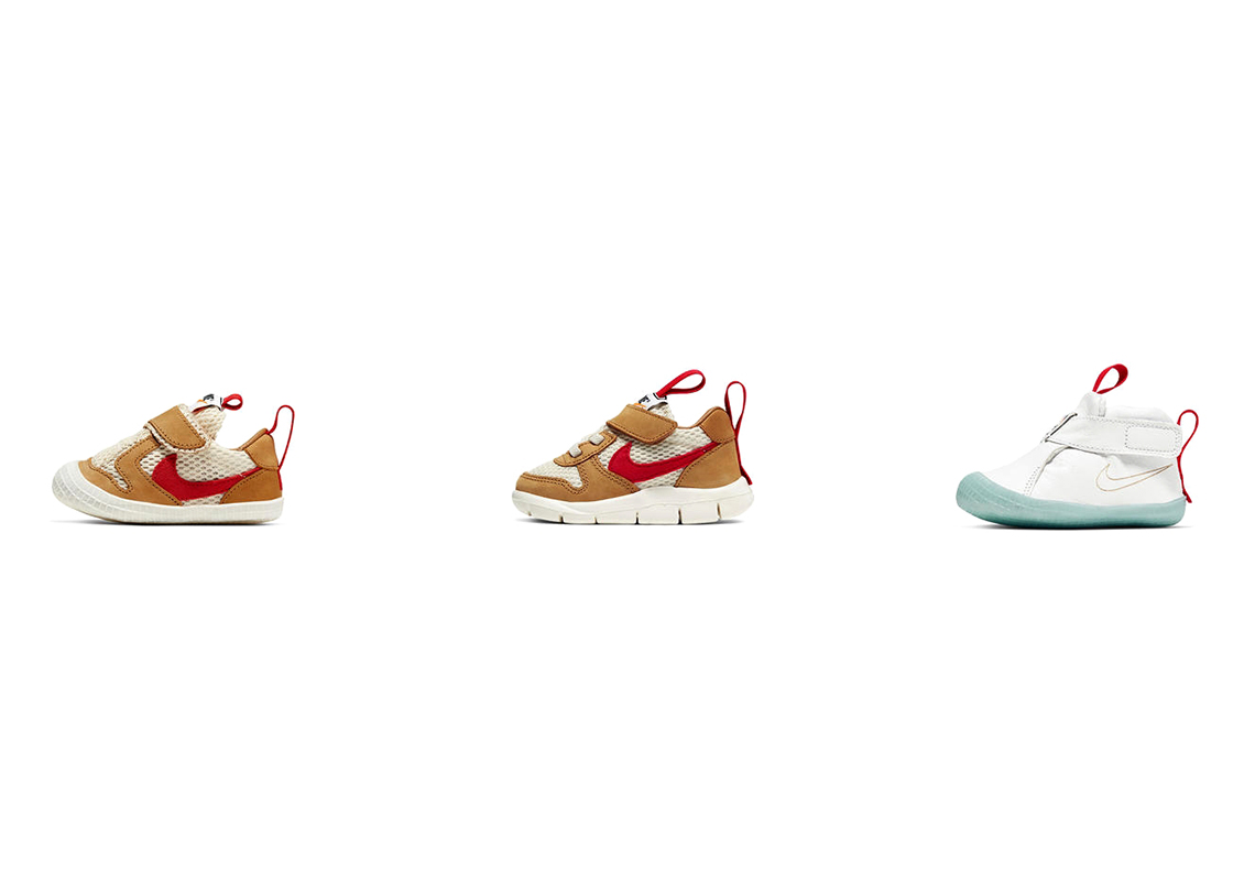 Tom Sachs x Nike Mars Yard выйдут в детских размерах