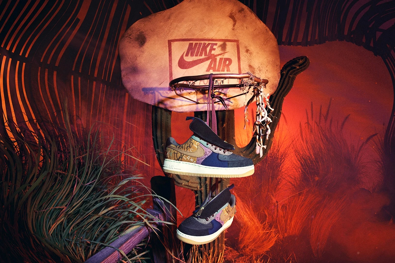 Объявлена дата релиза Travis Scott x Nike Air Force 1 Low «Cactus Jack»