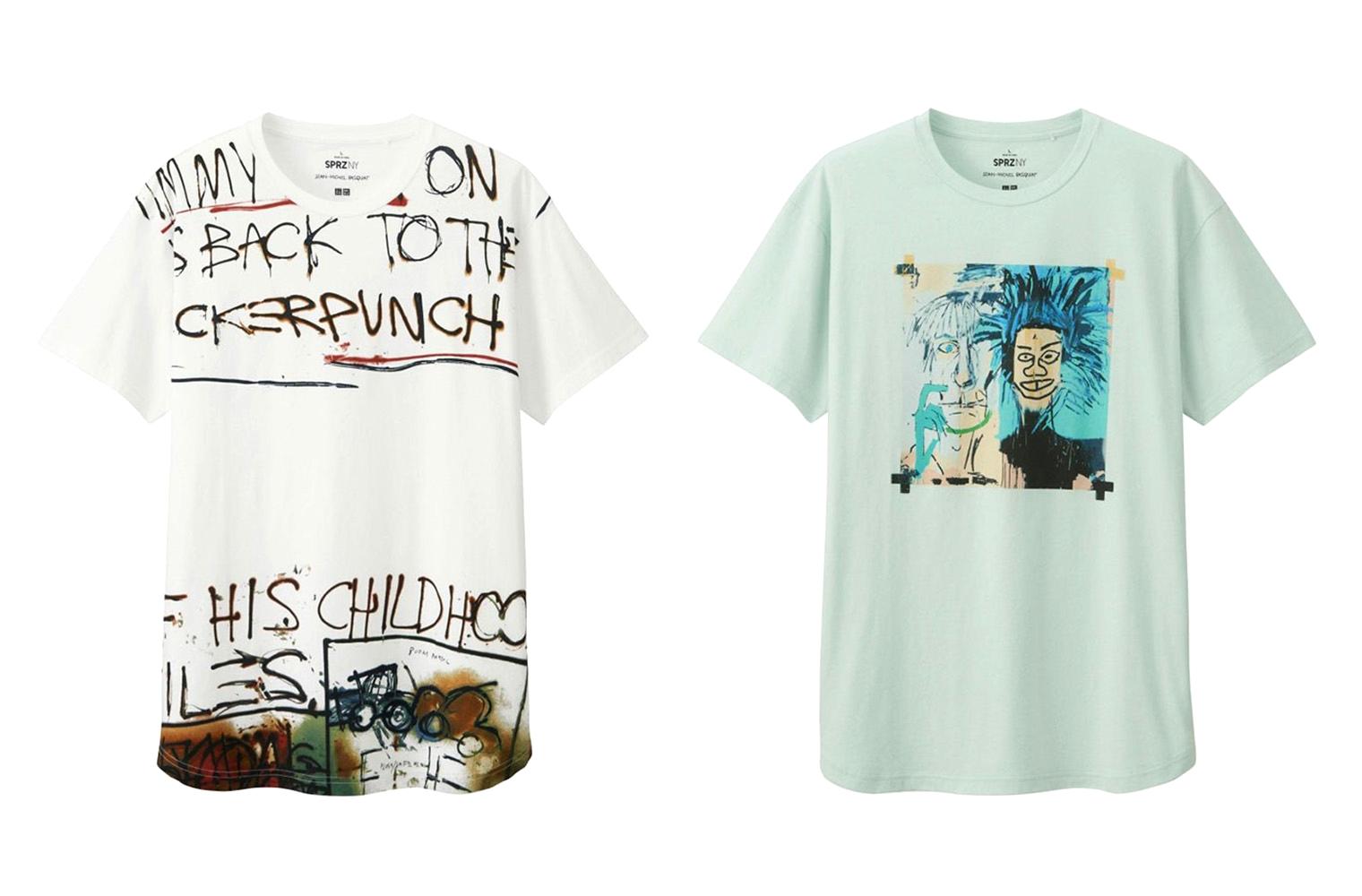 Uniqlo SPRZ NY x Jean-Michel Basquiat Spring/Summer 2016