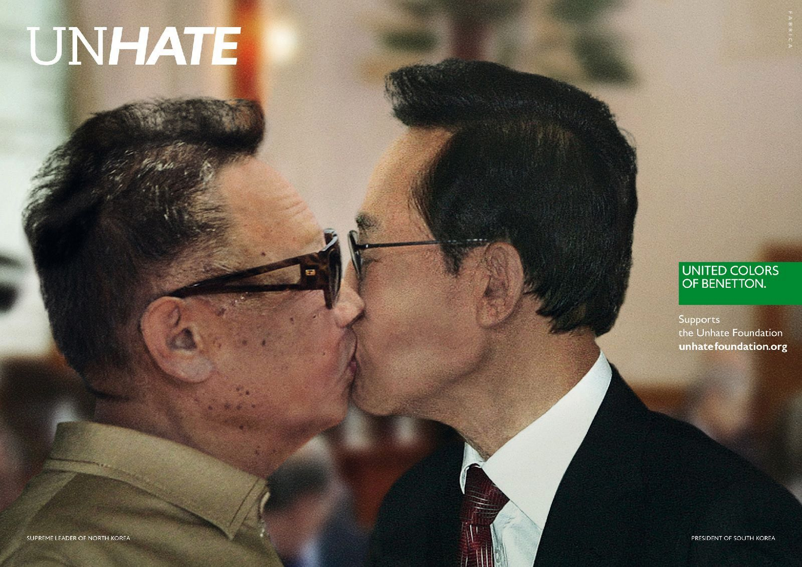 United Colors of Benetton — Unhate