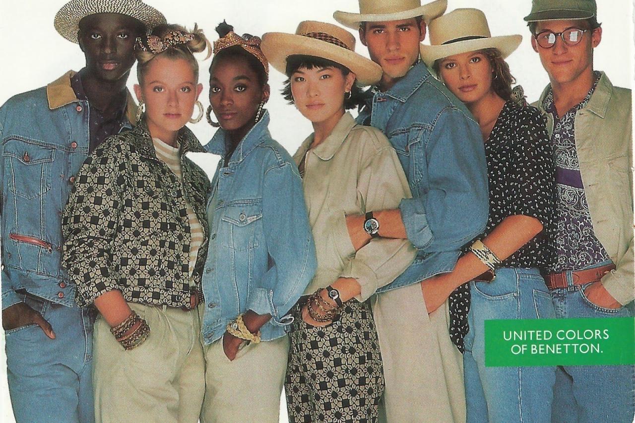 United Colors of Benetton история бренда Молодежный Центр 27
