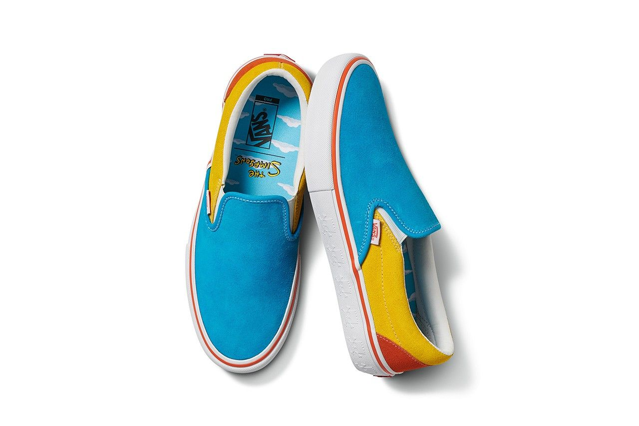 The Simpsons x Vans 2020