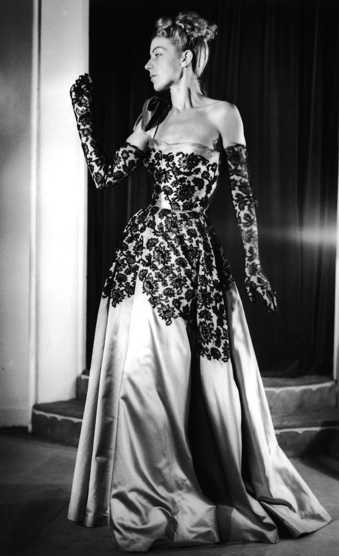 Вечернее платье Nina Ricci, 1947