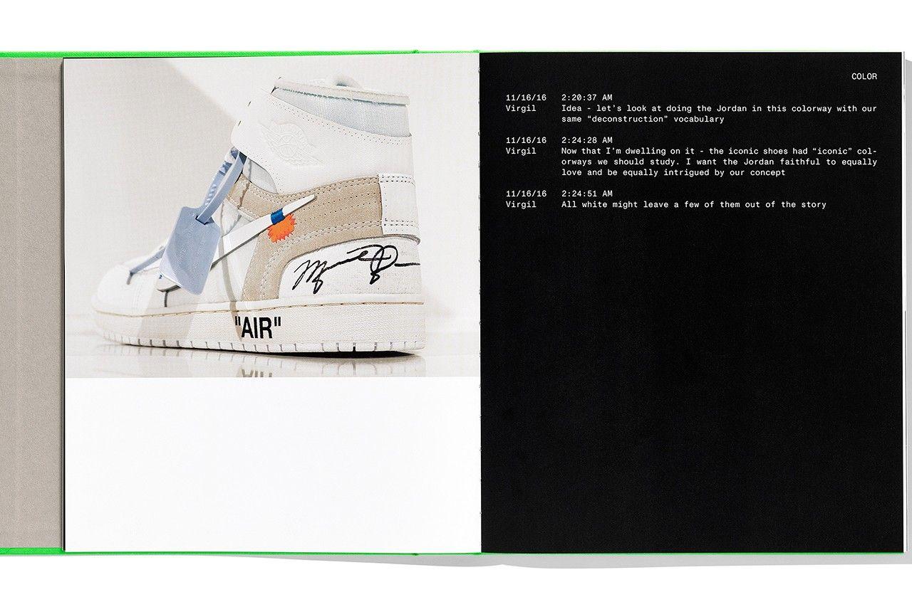 «ICONS» - новая книга Вирджила Абло и Nike