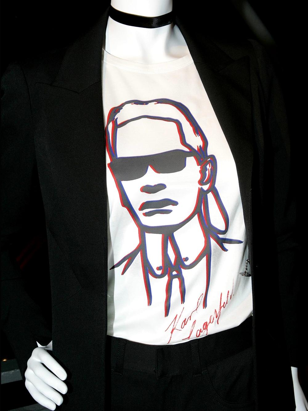 Karl Lagerfeld x H&M — 2004 год