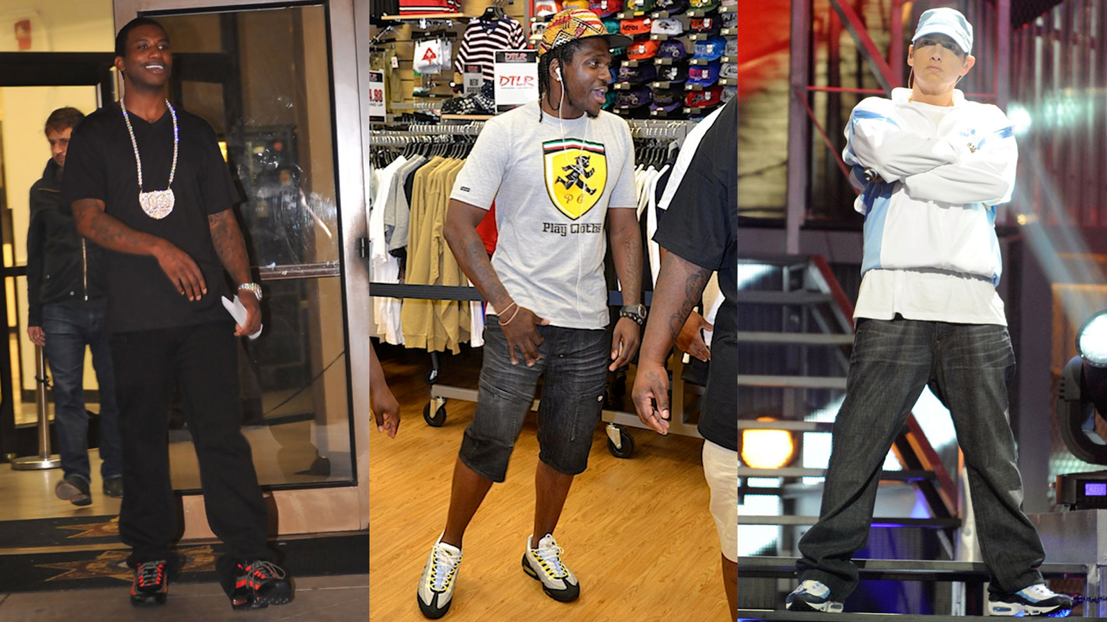 gucci mane pusha t eminem nike air max 95