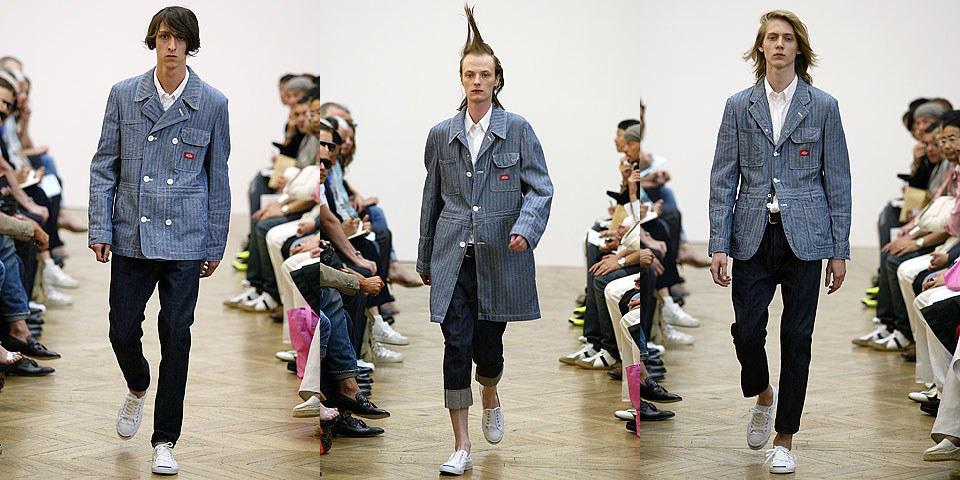 Junya Watanabe x Dickies Spring 2006 Menswear