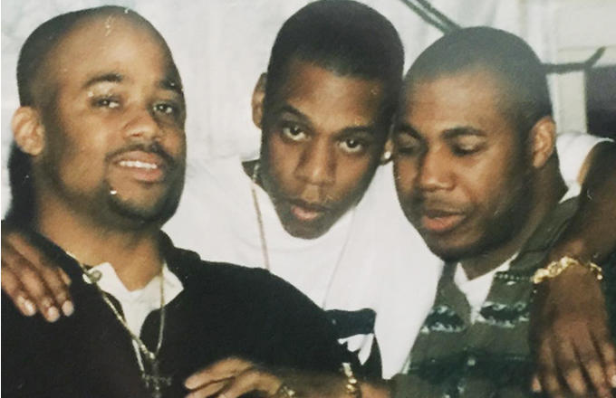 Dame Dash, Jay-Z и Карим «Biggs» Бёрк