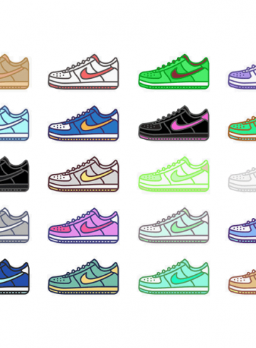 история nike air force 1