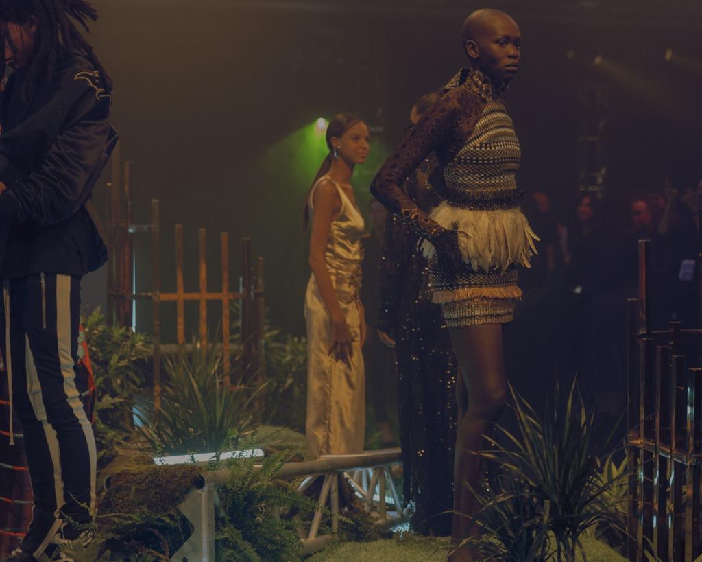 Образы с показа «Добро пожаловать в Ваканду». Фото Микайи Картер. Фоторедактор: Биель Паркли.