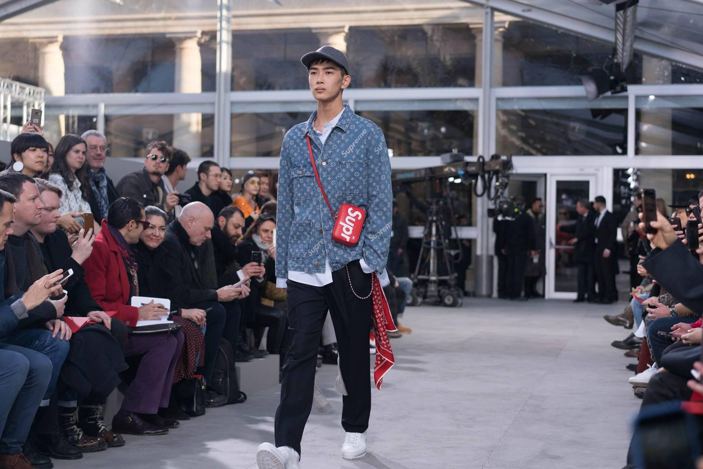 Louis Vuitton Supreme Fall 2017