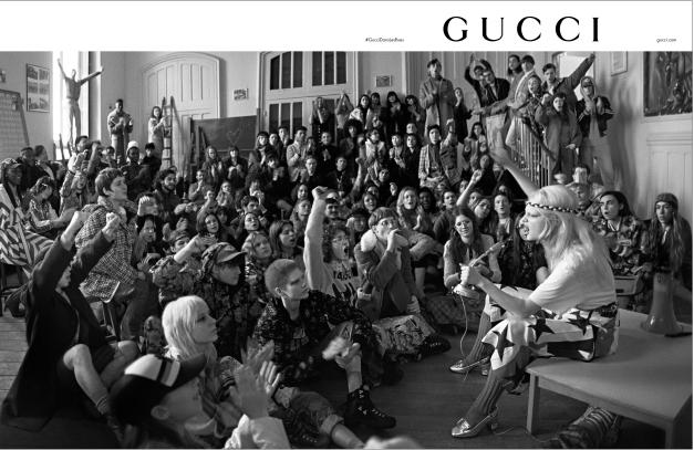 Реклама весенней коллекции Gucci 2018 года. Фото Глена Лучфорда