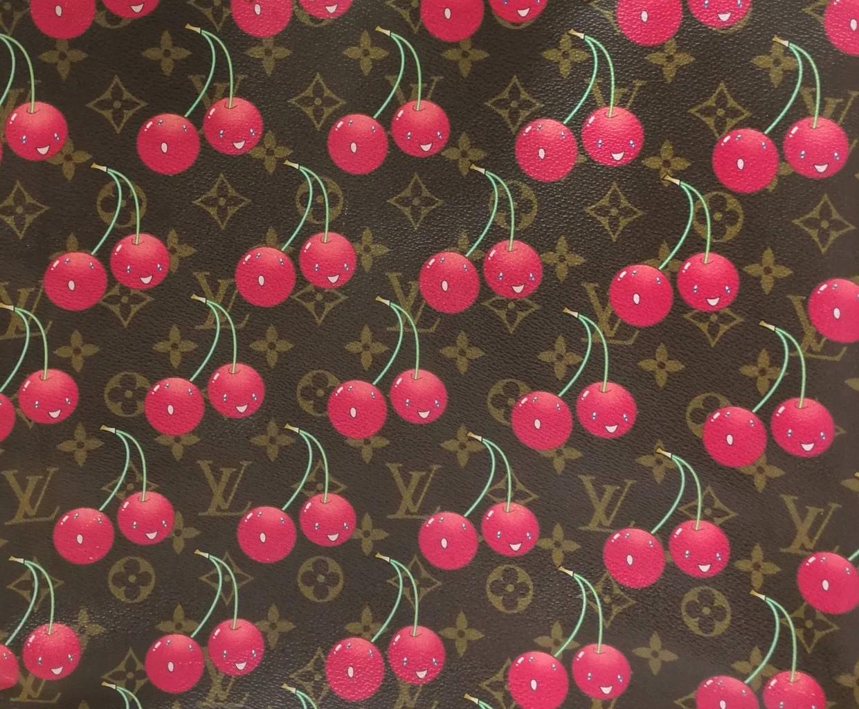 Louis Vuitton x Takashi Murakami S/S 2005 Cherry Print