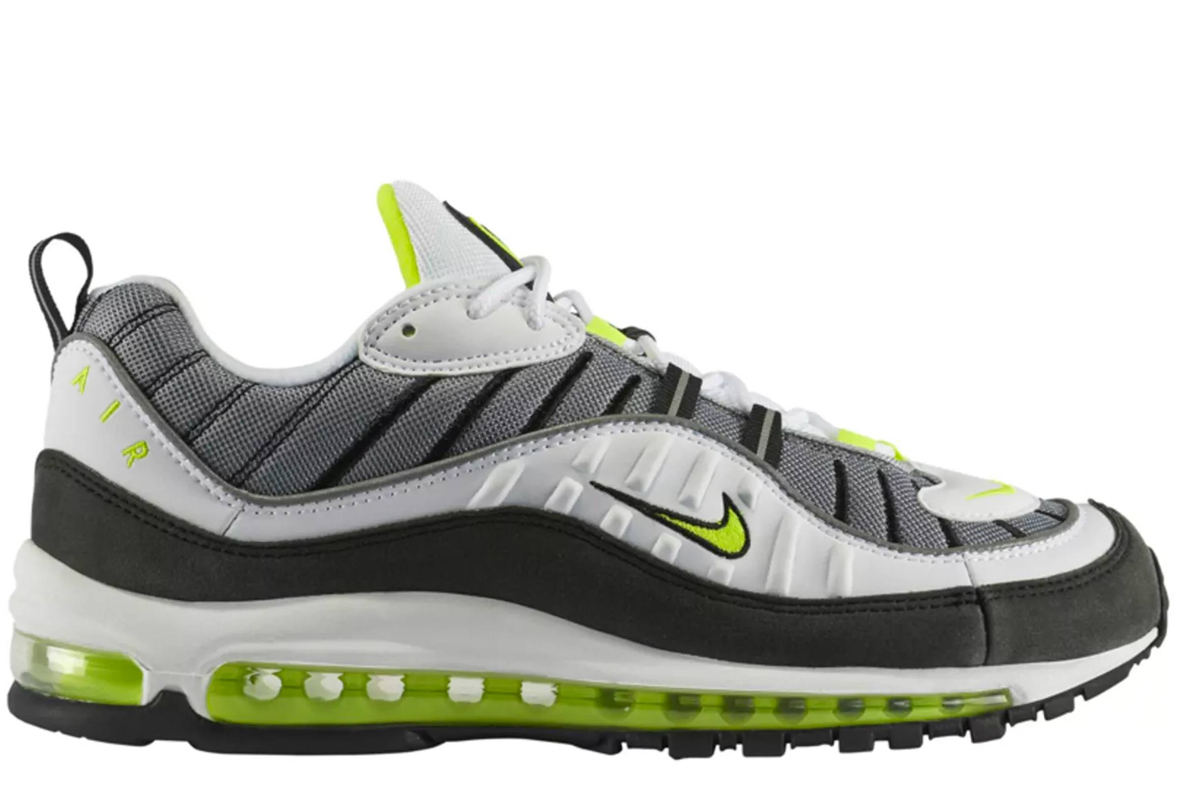 Air Max 98 «Cool Grey Volt» — история Nike Air Max 98