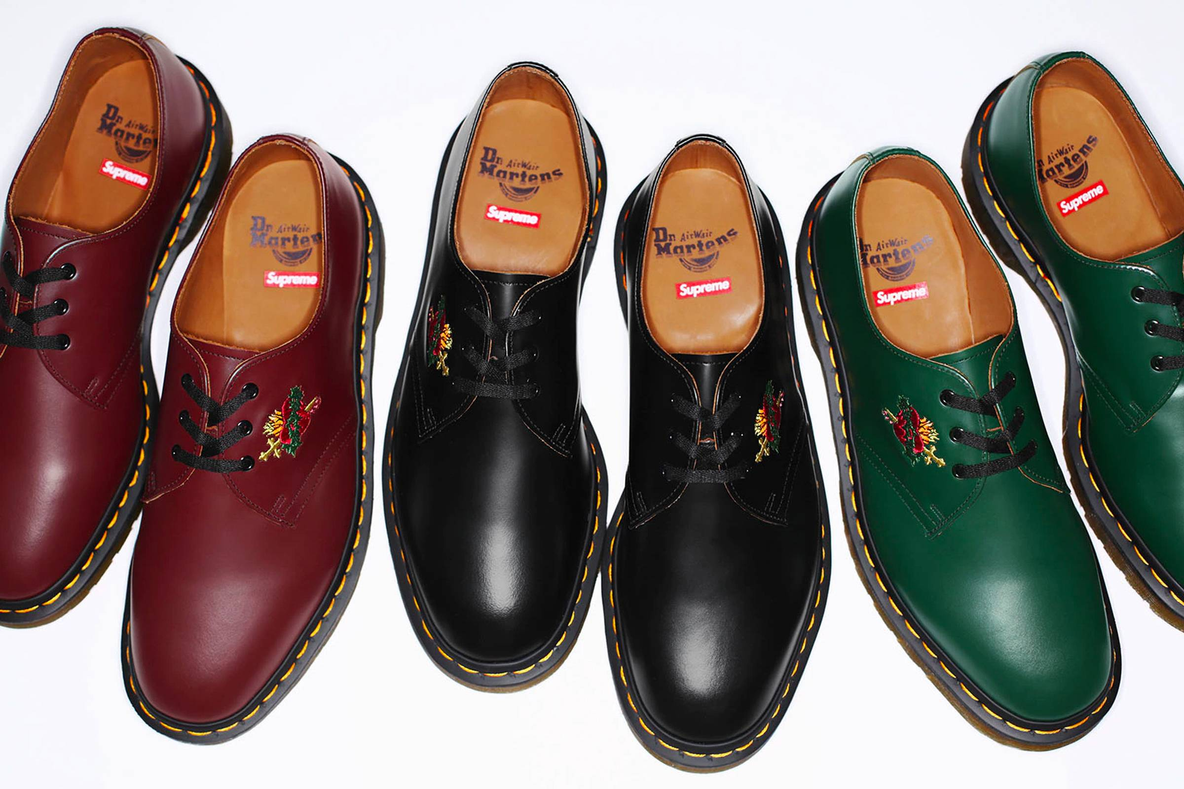 Низкие ботинки Supreme x Dr. Martens «Sacred Heart» 1461