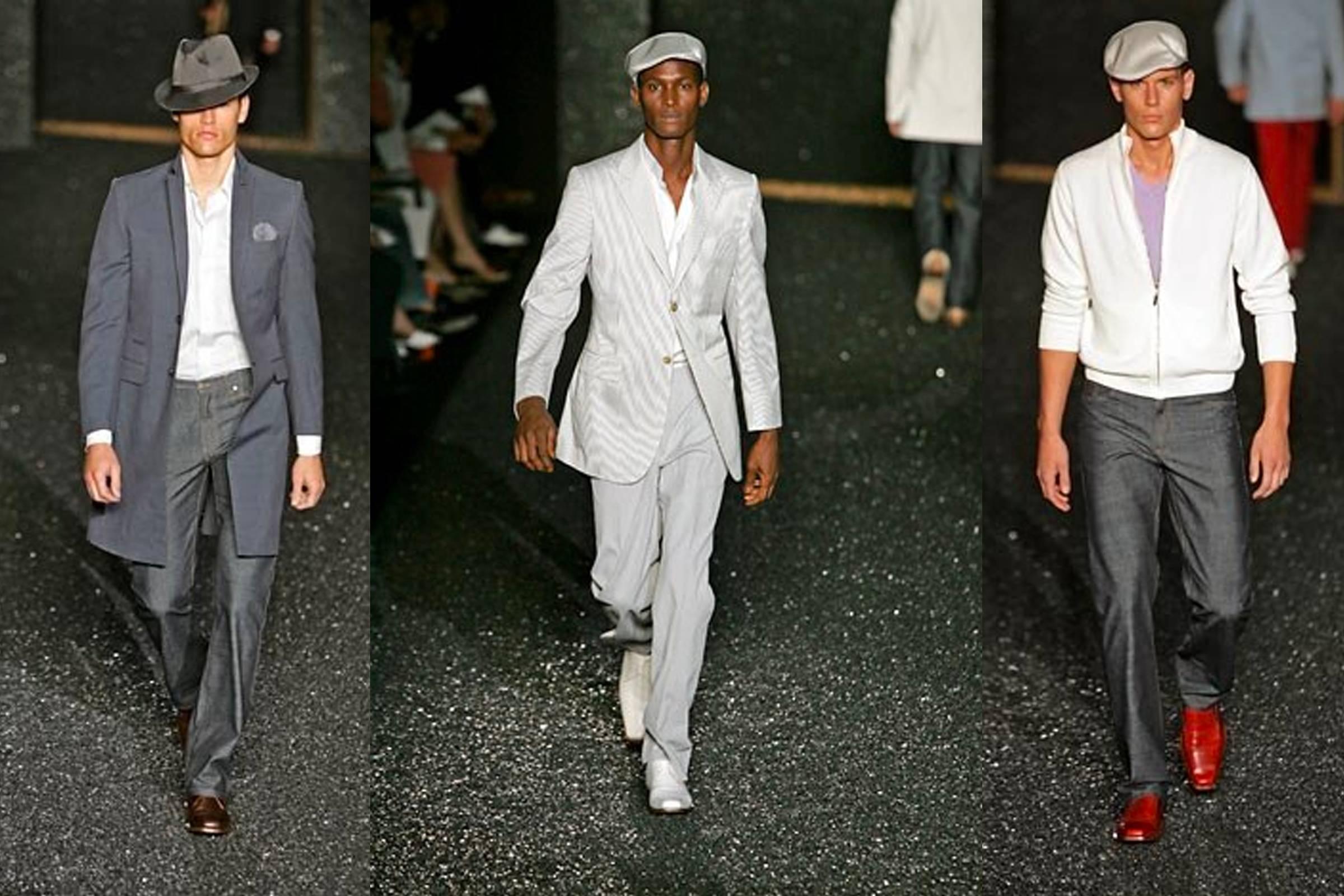 Образы из мужской коллекции Givenchy Весна/Лето 2005