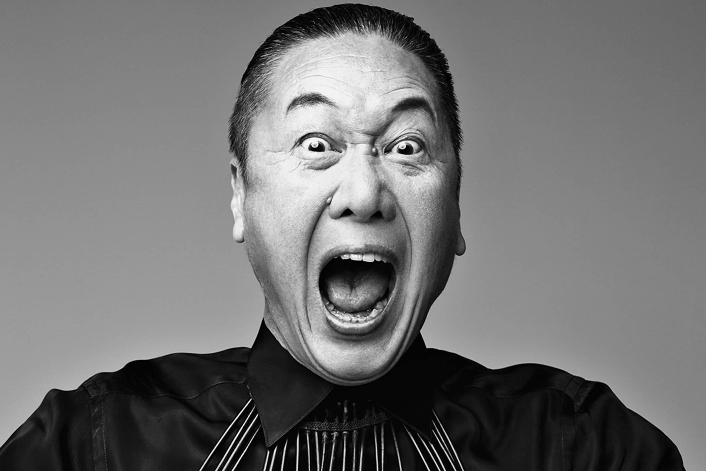 Кансай Ямамото в конце 90-х