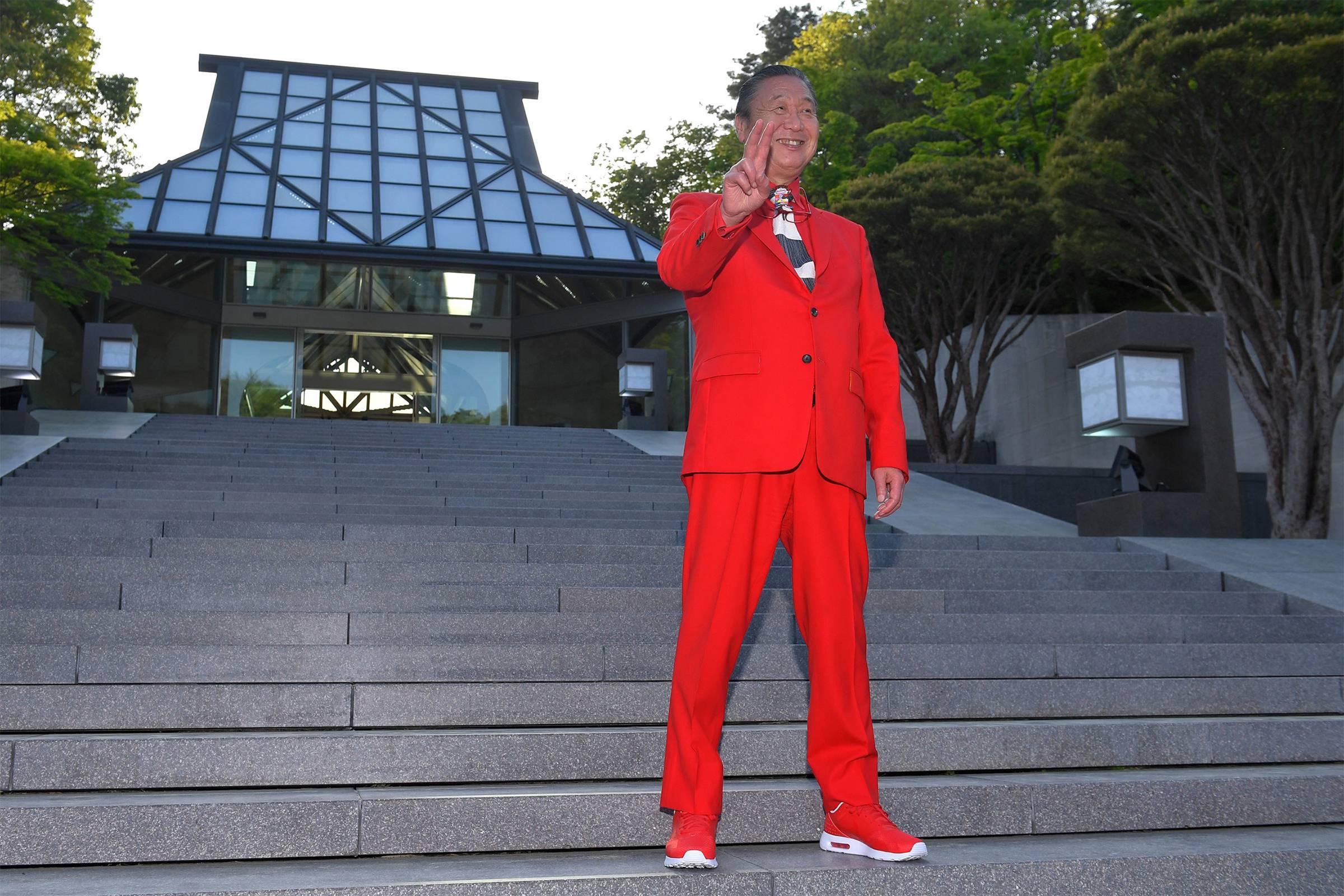 Кансай Ямамото на показе Louis Vuitton 2018 Cruise