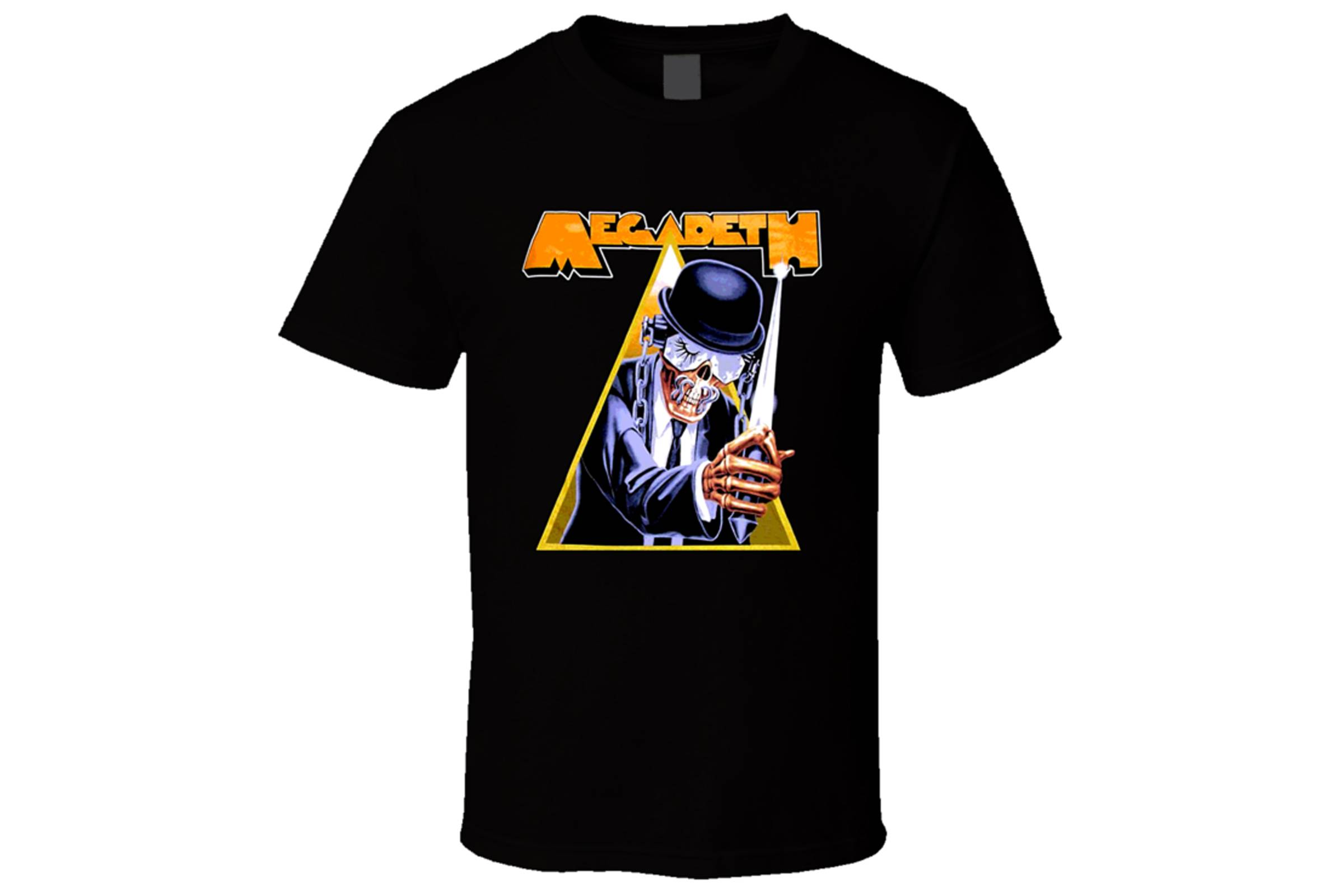 Дань уважения Megadeth «Заводному апельсину»: маскот группы Вик Раттлхэд в образе Алекса ДэЛарджа