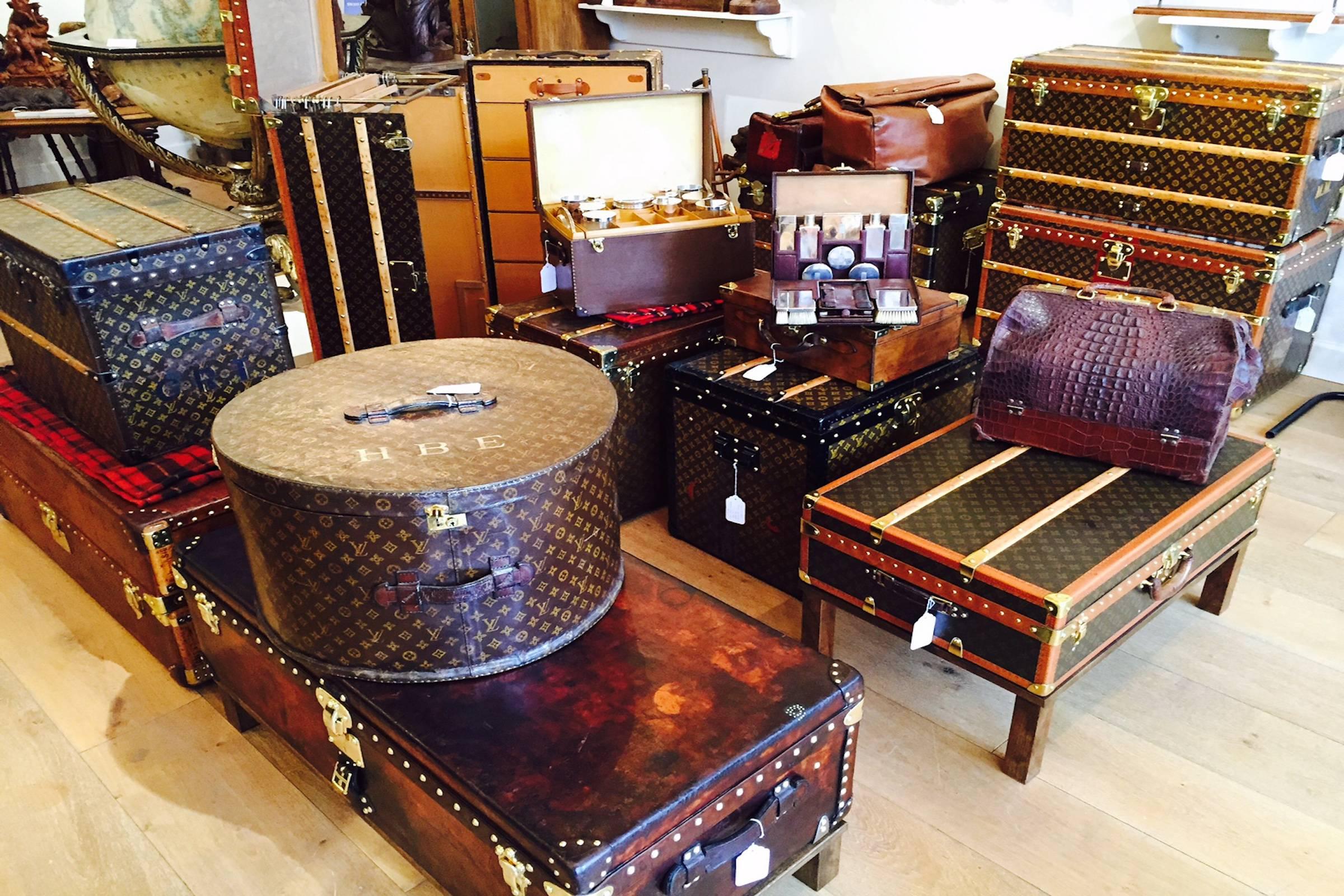 Примеры багажа и сумок луи виттон