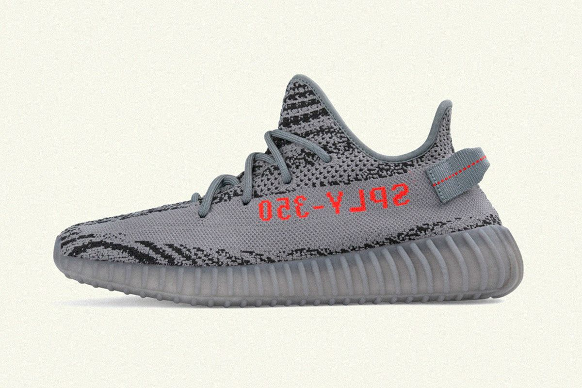 "adidas YEEZY Boost 350 V2 ""Gray/Bold Orange"" mcmag.ru"