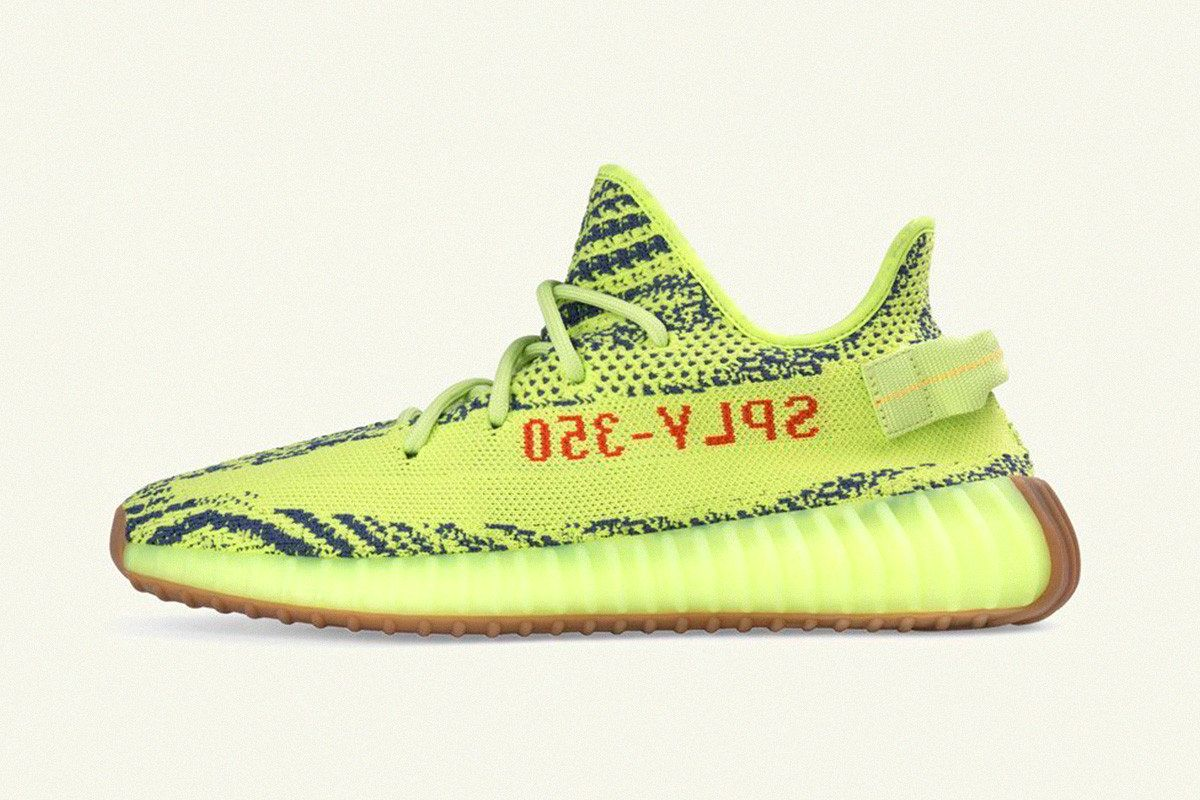 "adidas YEEZY Boost 350 V2 ""Semi-Frozen Yellow"" mcmag.ru"