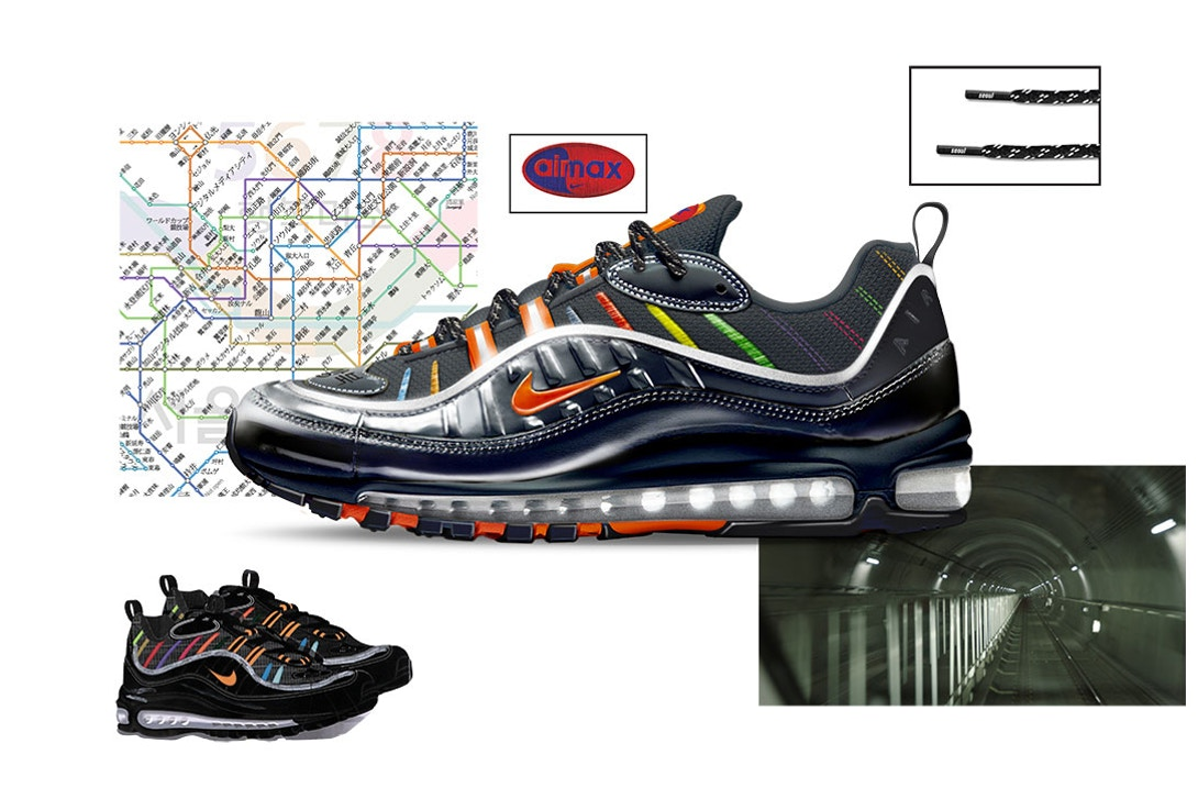 Air Max 98 Metro by Joon Oh Park Air Design Nike