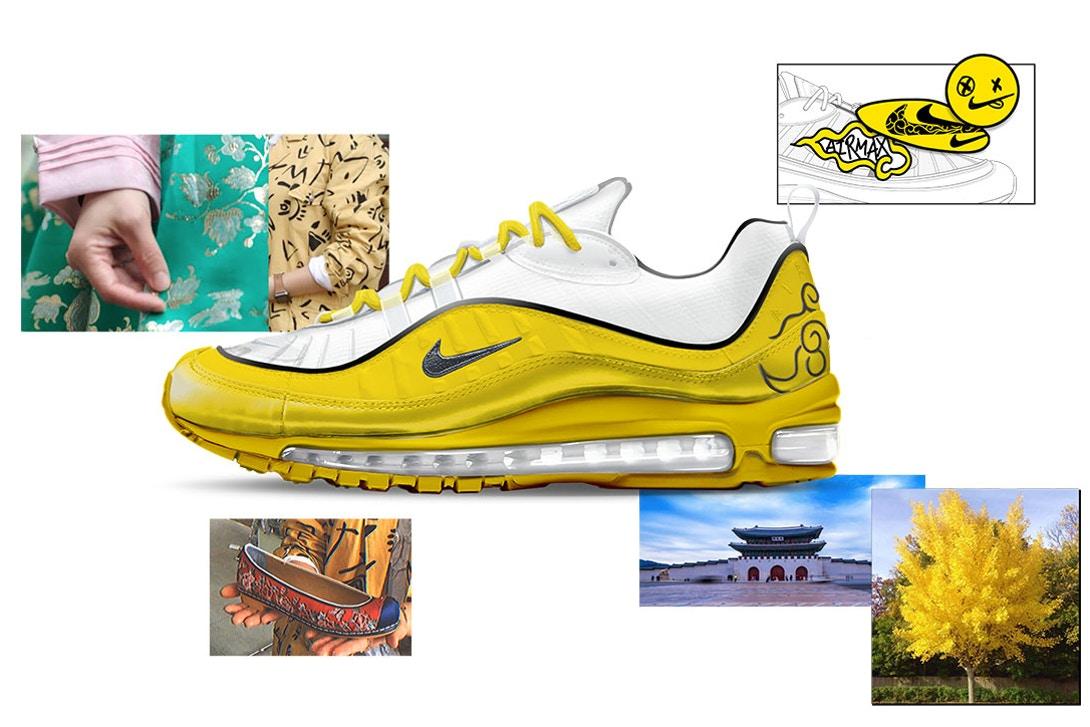 Air Max 98 Ulsoo by Binna Kim Air Design Nike