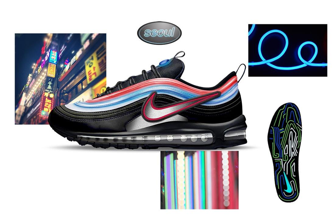 Air Max 97 Neon Seoul by Gwang Shin Air Design Nike