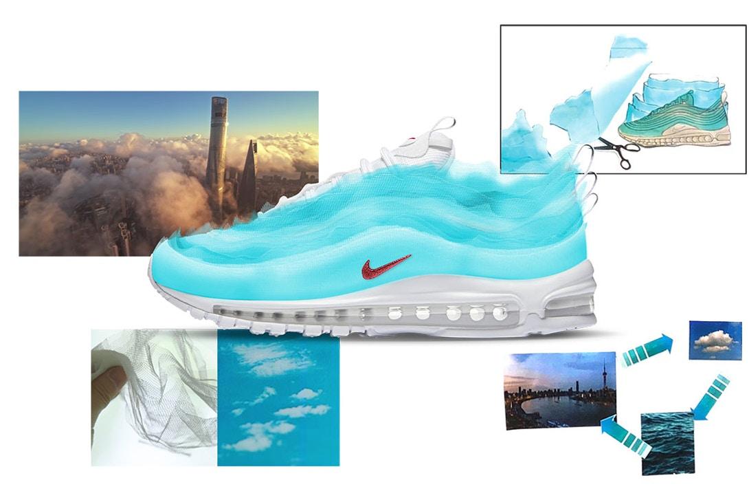 Air Max 97 SH Kaleidoscope by Cash Ru Air Design Nike