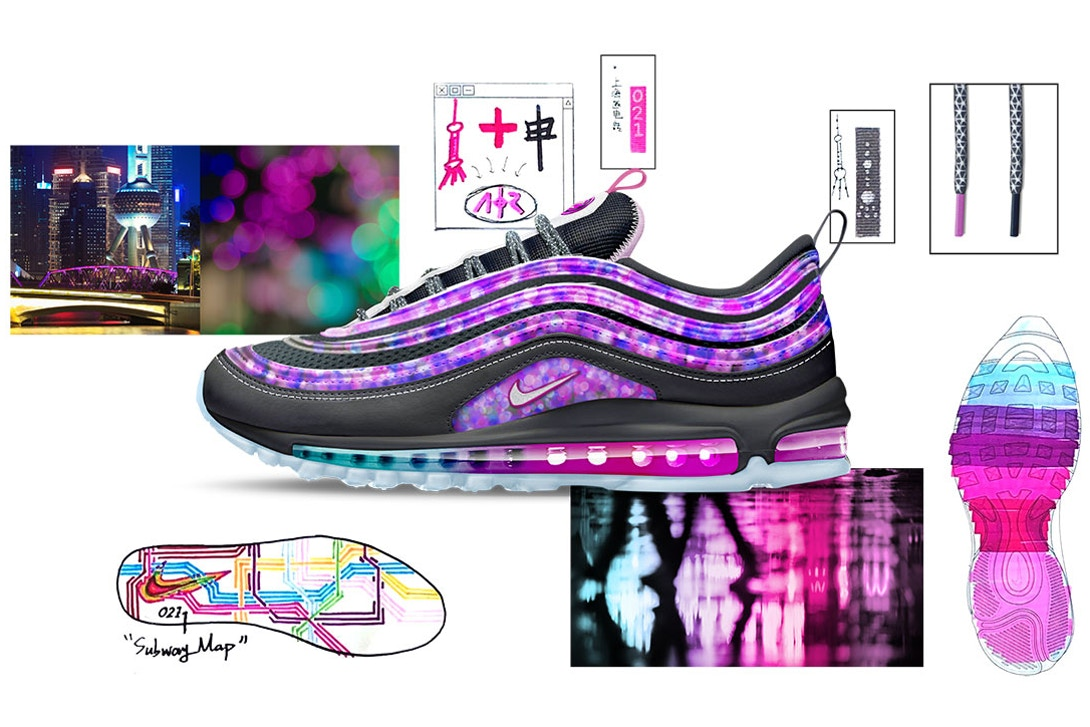 Air Max 97 SH City of Stars by James Lin Air Design Nike